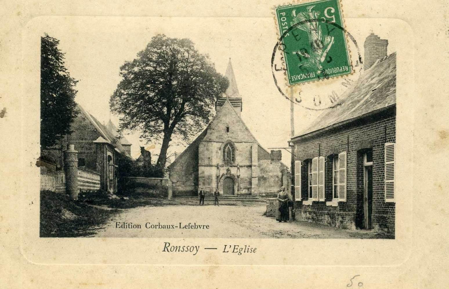 Ancienne Église 3 colorisée