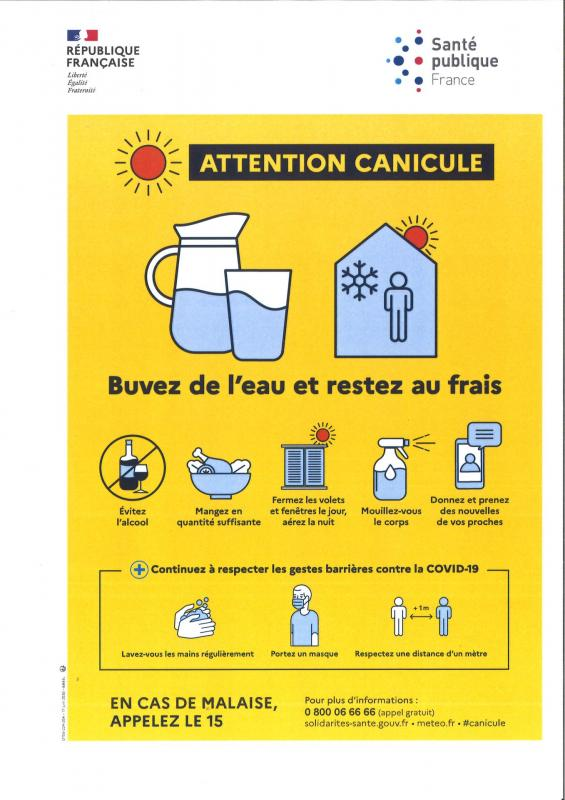 Attention Canicule !