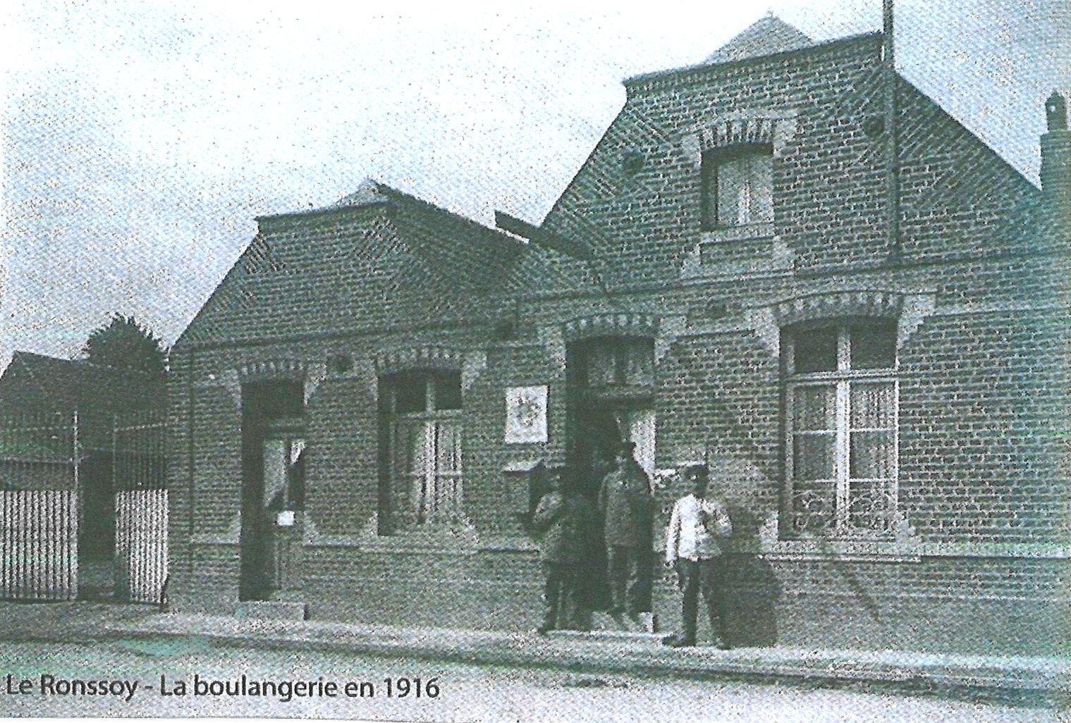 La Boulangerie en 1916
