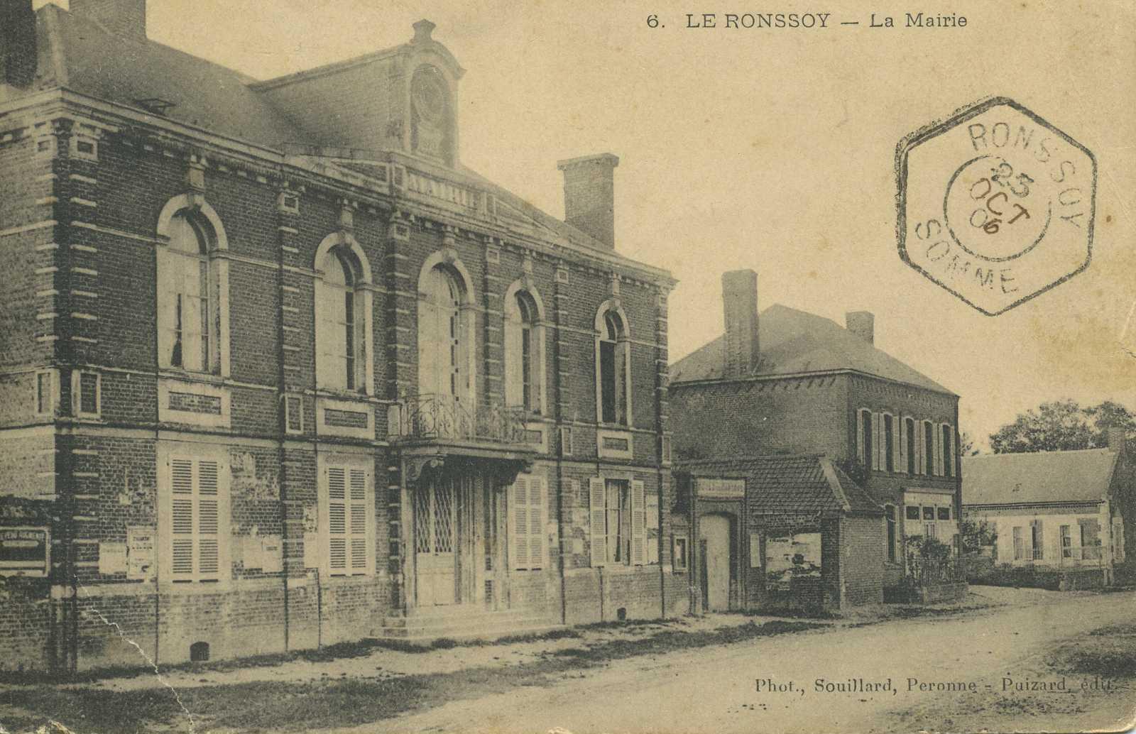 La Mairie Octobre 1906