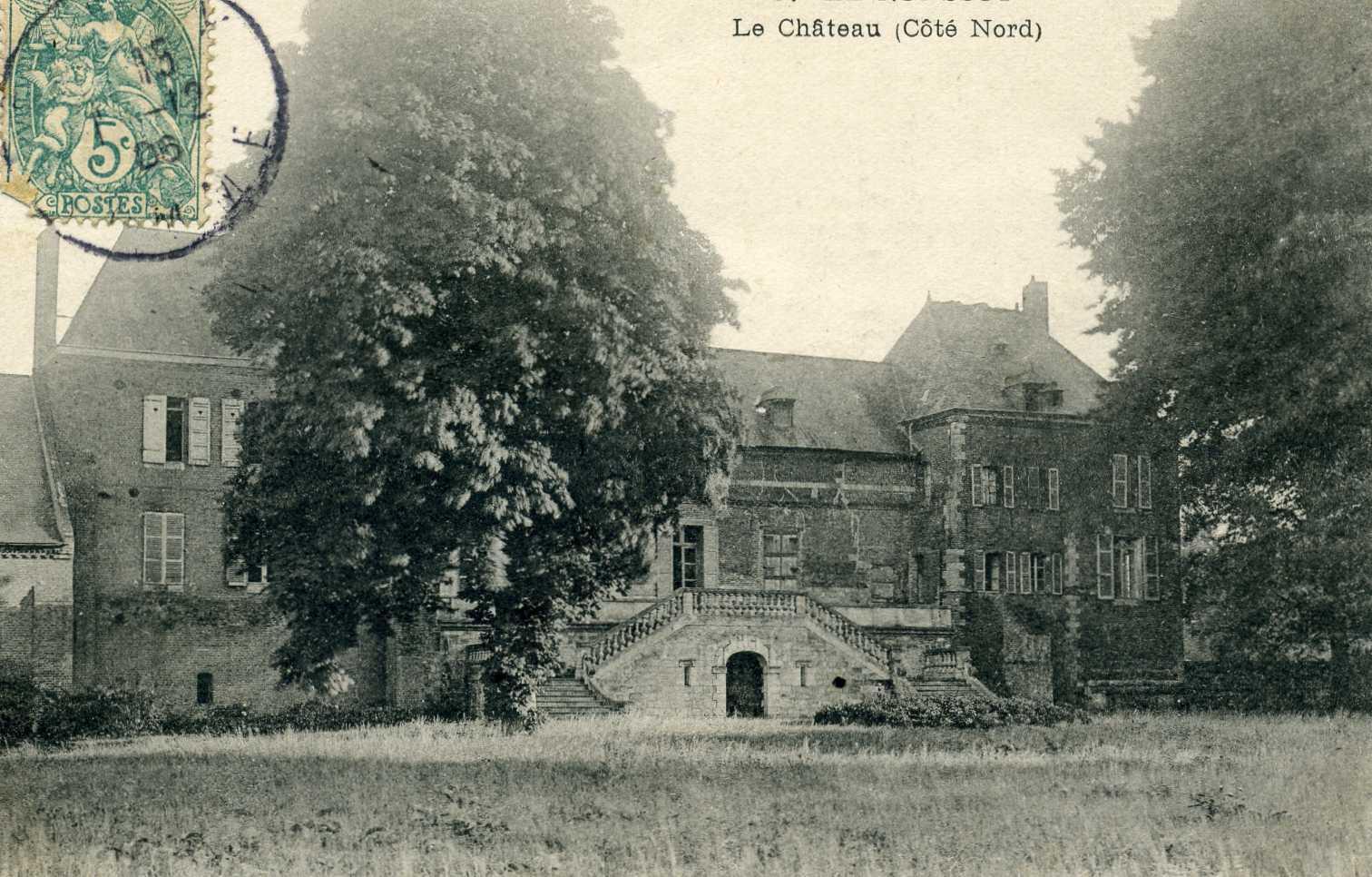 Le château côté nord