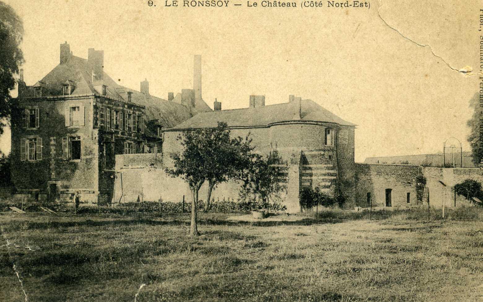 Le château côté nord est
