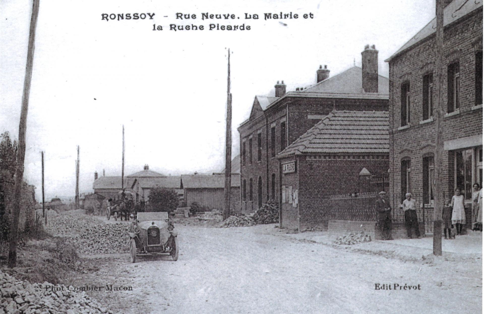 Rue Neuve la Mairie et la Ruche picarde